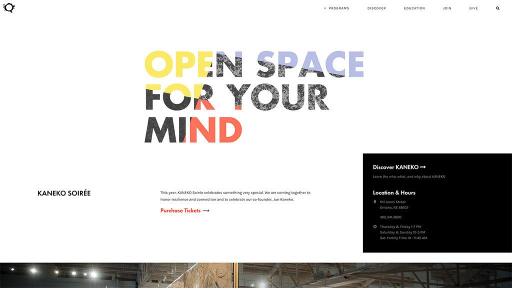Minimalistisches Webdesign Blog Beispiel Kaneko Leon Voßmüller