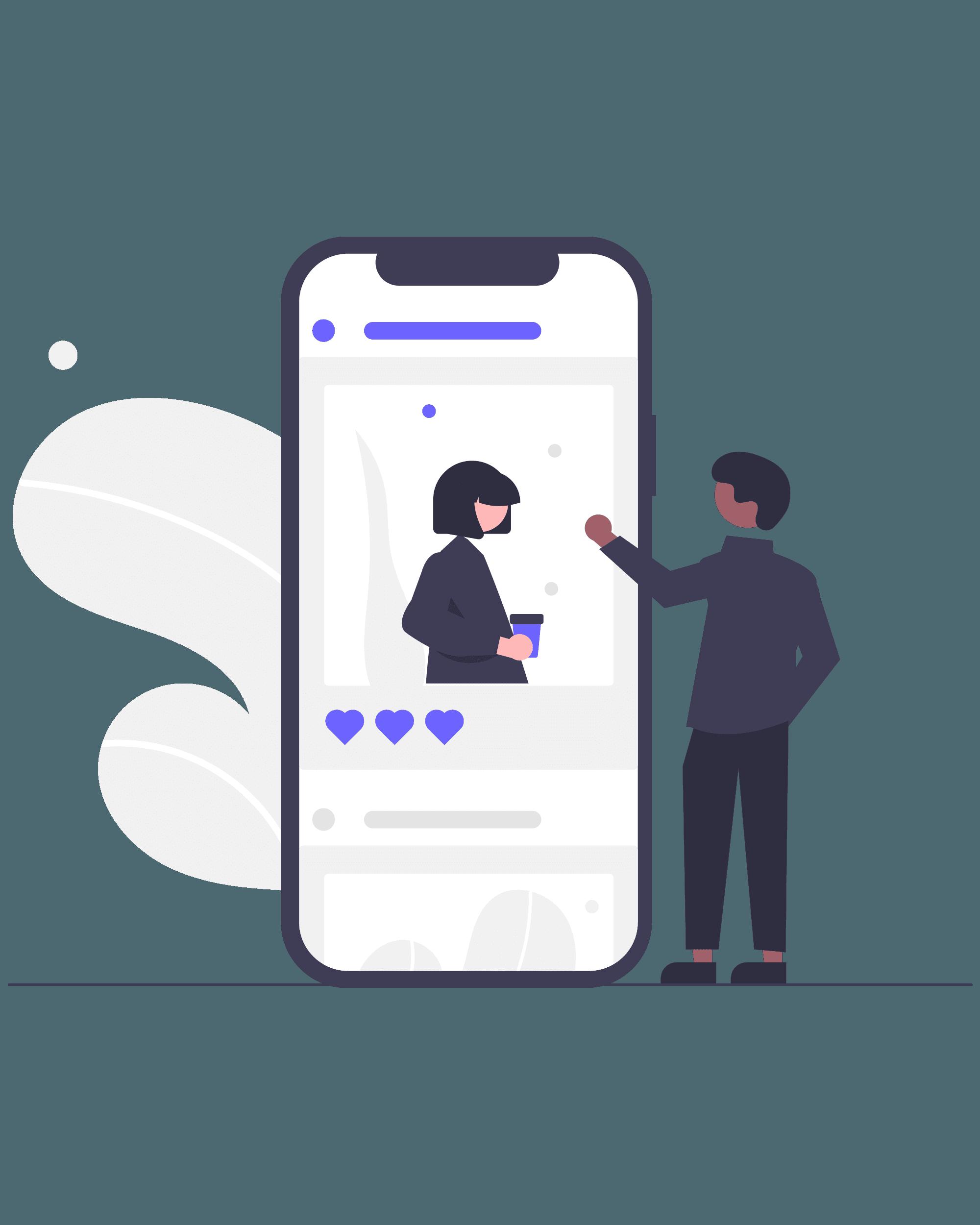 Mediendesign Social Media