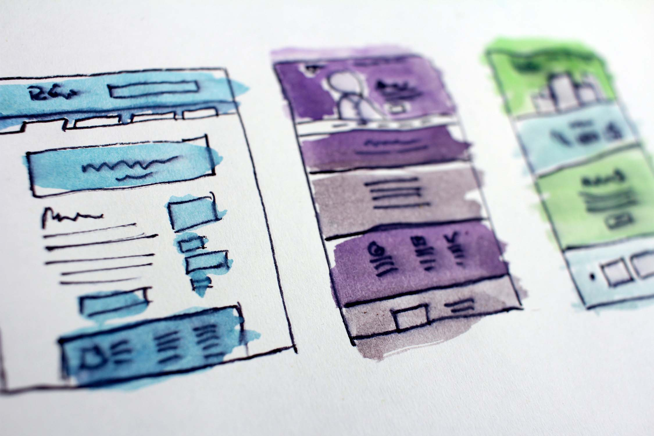 Kernelemente Webdesign
